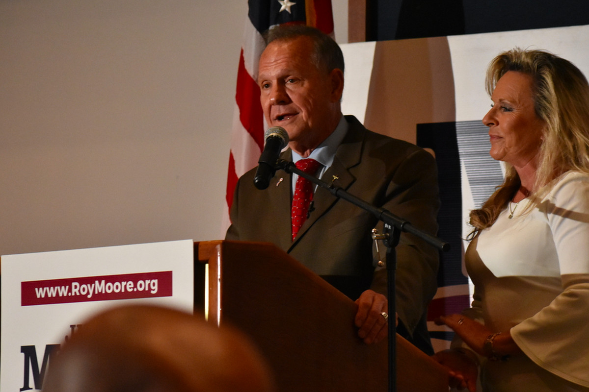 Roy Moore Has 18-Point Lead in Alabama Senate Runoff Poll
