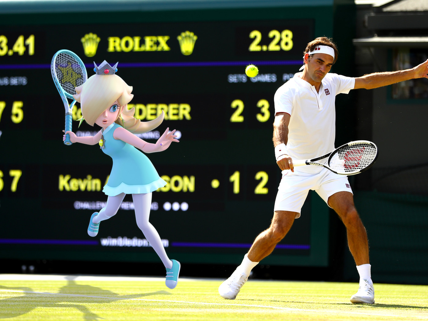 Matching Mario Tennis Aces Characters With Real Life