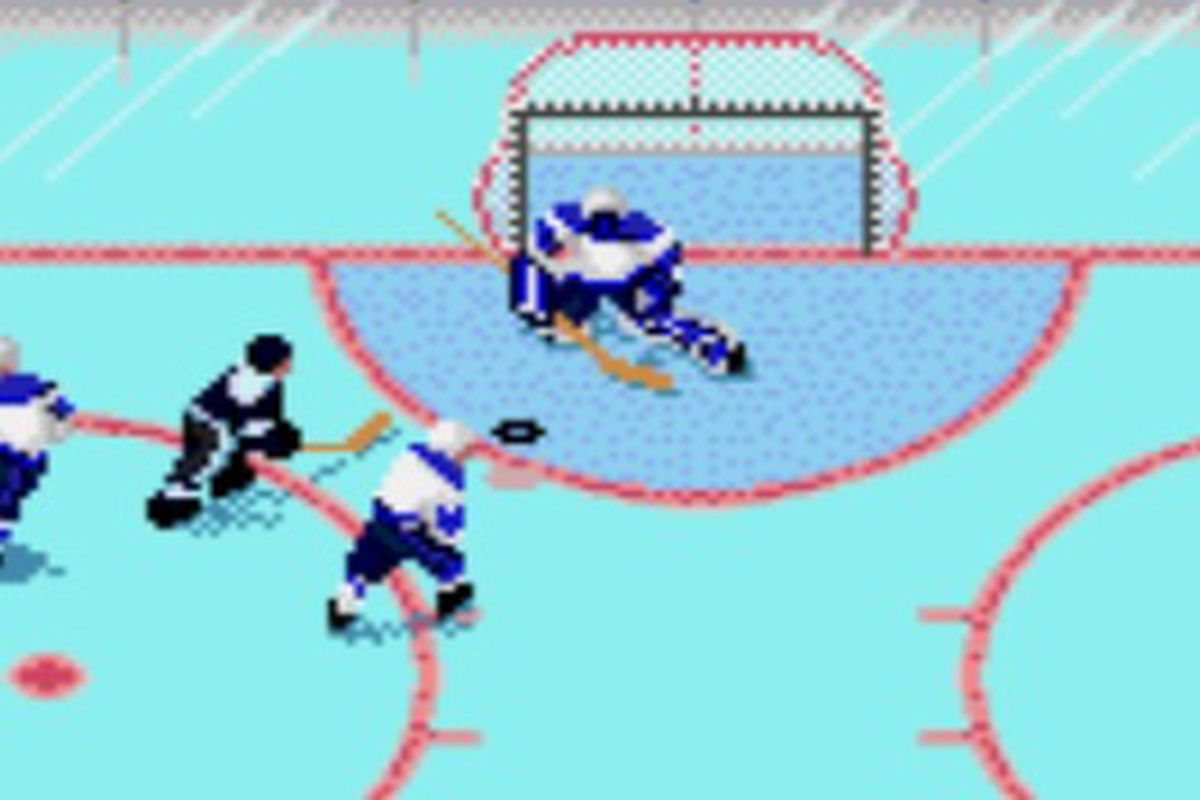 Wendell was the original Lightning goalie, minding the nets in 1992-1994, and in NHLPA '93 for the SEGA Genesis.