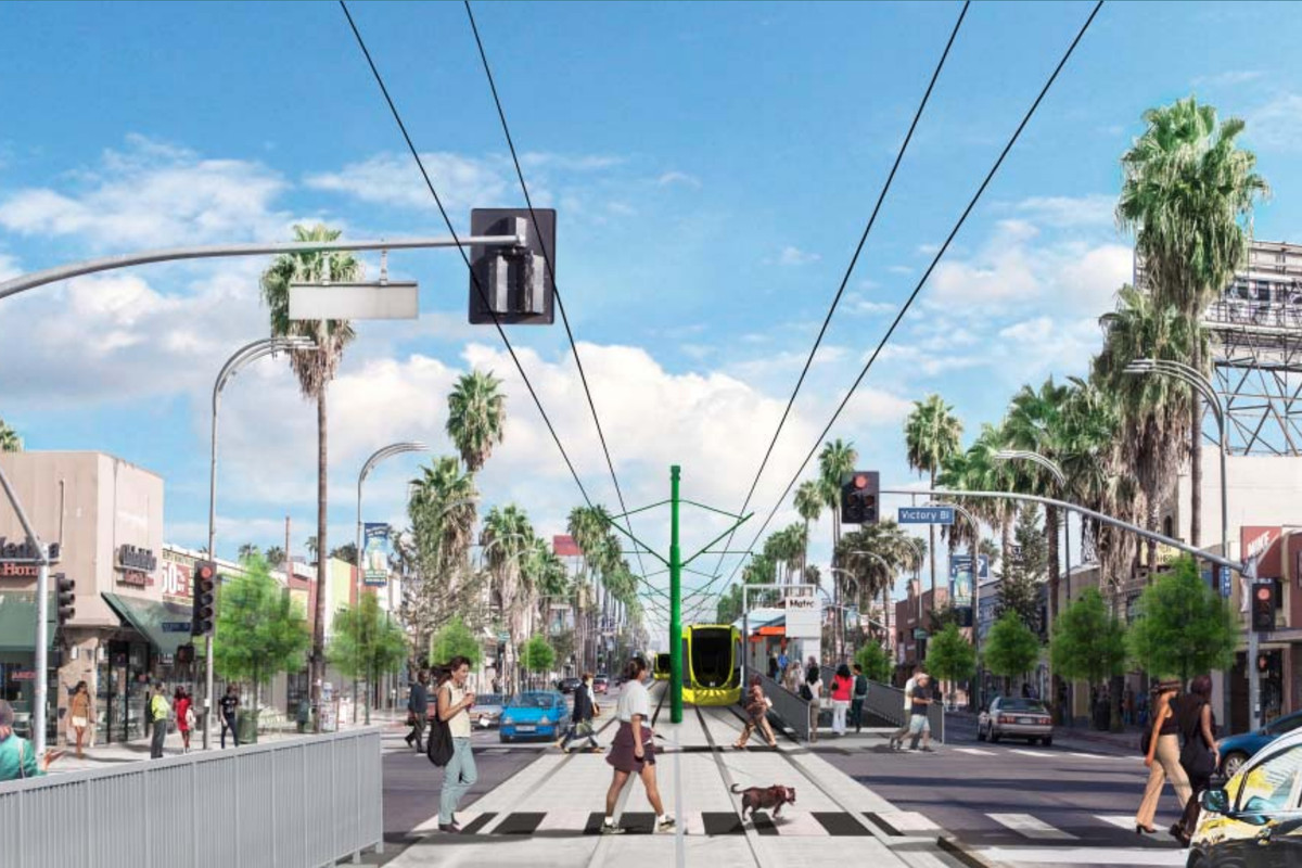 East Valley light rail rendering