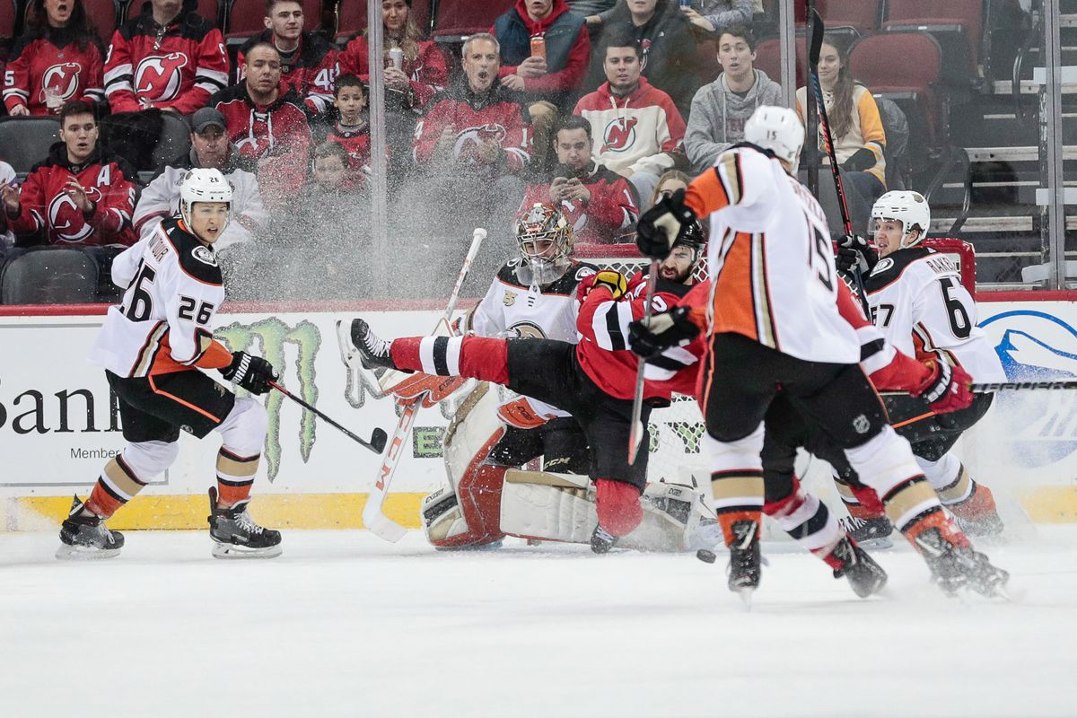 new concept d1f41 69112 New Jersey Devils Disappoint Again in 2-3 Loss to Anaheim ...