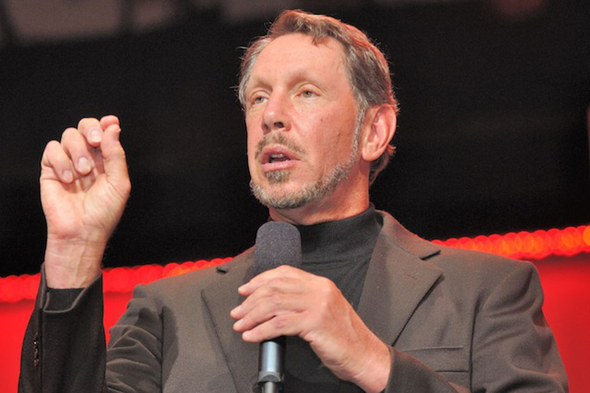based on larry ellison iq why do individuals work for him