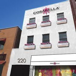 The Cosabella plan for prettification at 220 Lafayette Street.<br />Rendering via WWD.