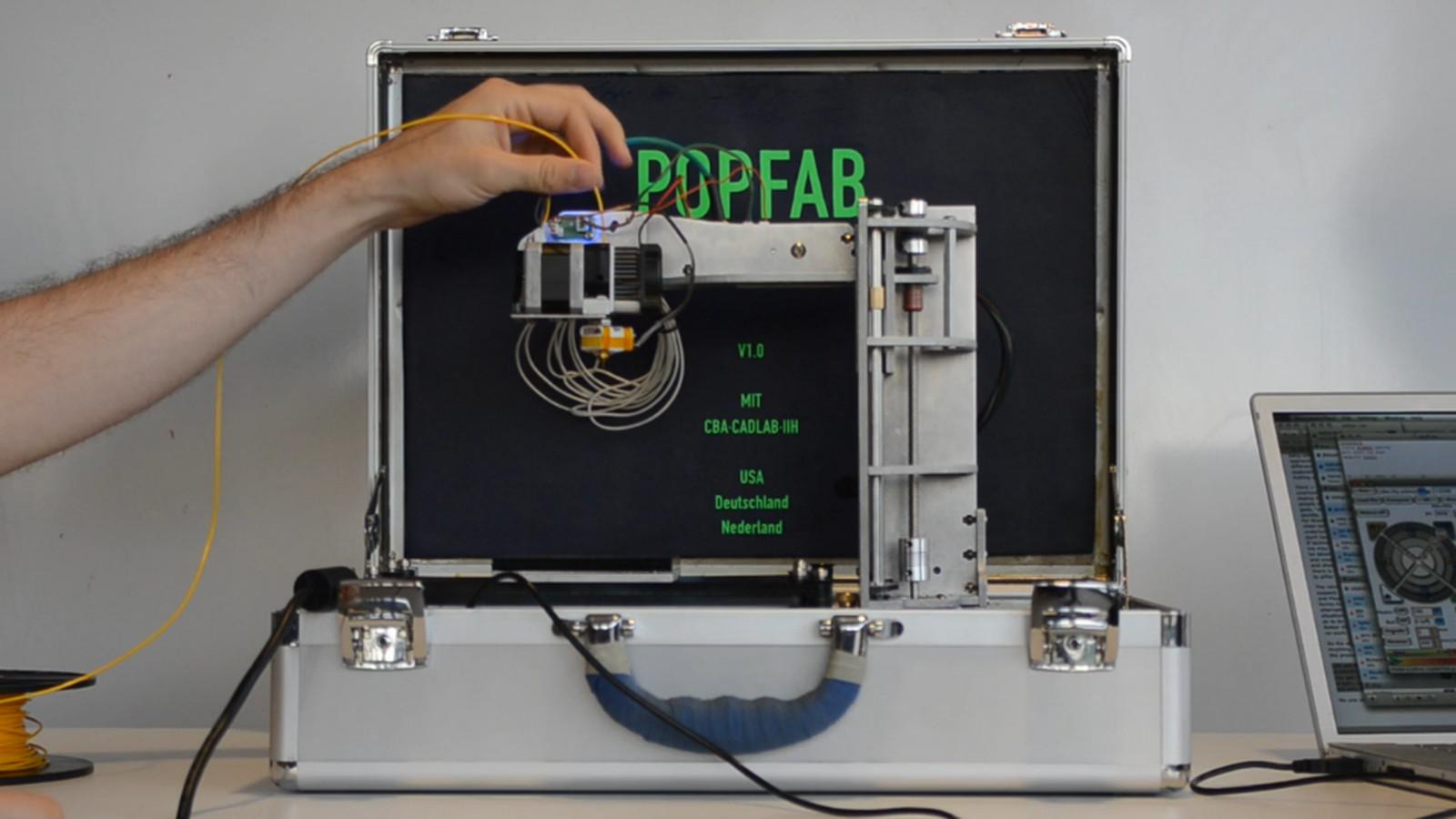 Popfab A 3d Printer And Cnc Milling Machine That Fits