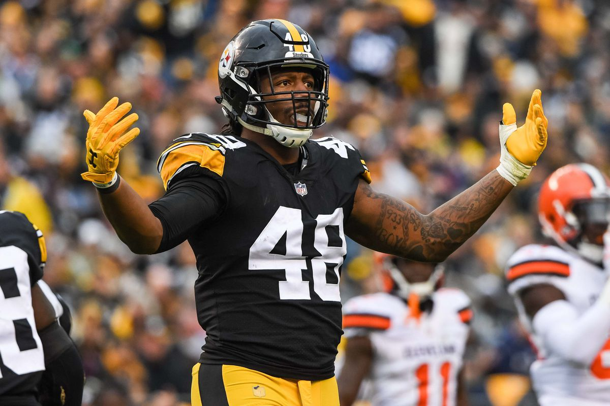 new products e8ba1 56aab Steelers Injury Report: Bud Dupree limited at practice on ...