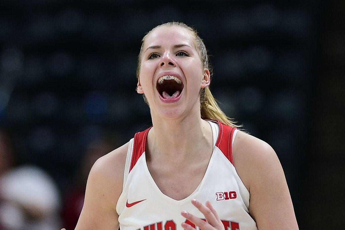 NCAA Womens Basketball: Big Ten Conference Tournament: Michigan vs Ohio State.