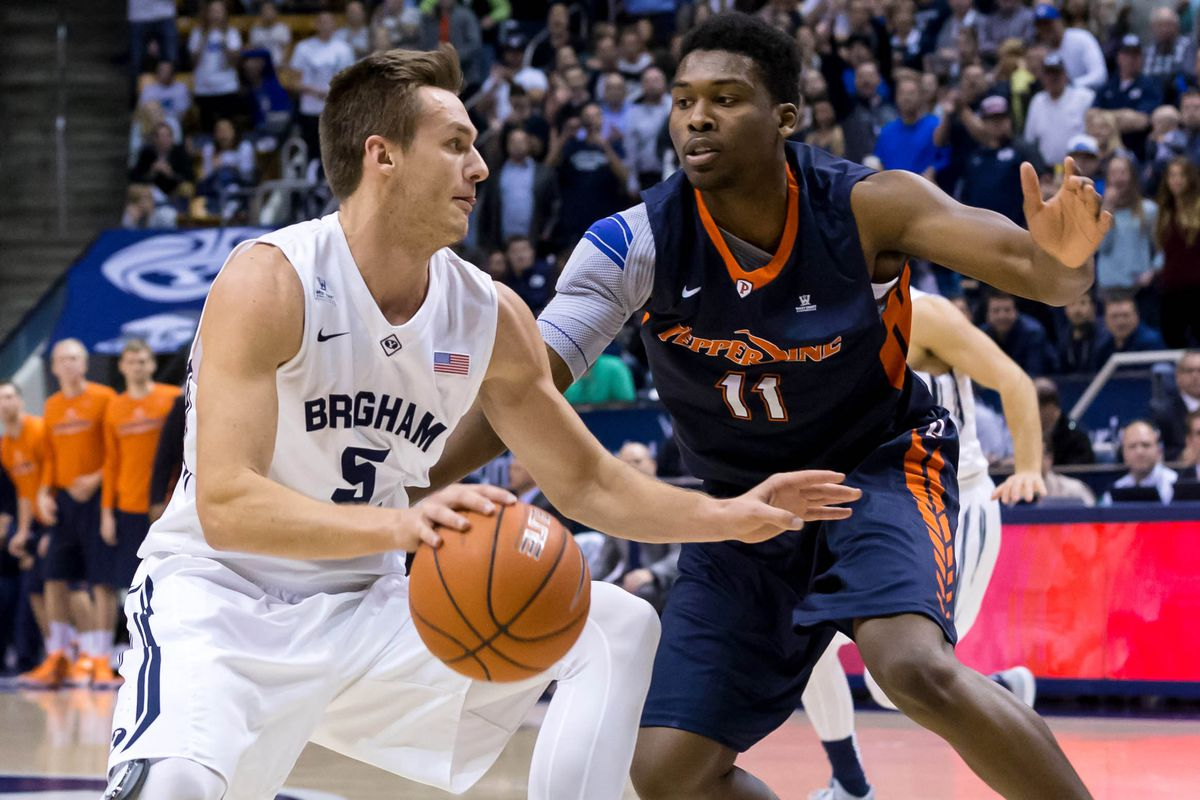 Kyle Collinsworth leads the nation in triple-doubles