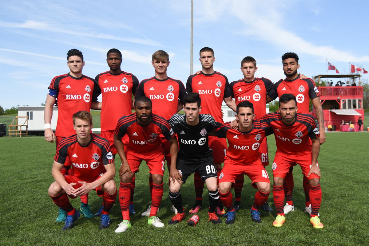 USL Photo - TFC II Starting eleven on Friday evening against Tampa Bay