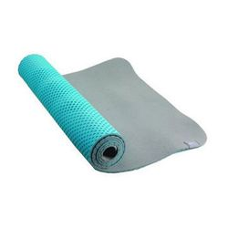 "<b>Nike</b> Ultimate 5mm Yoga Mat in Blue-Light Grey, <a href=""http://www.citysports.com/Nike-Ultimate-5mm-Yoga-Mat/222374/Product"">$50</a> at City Sports"