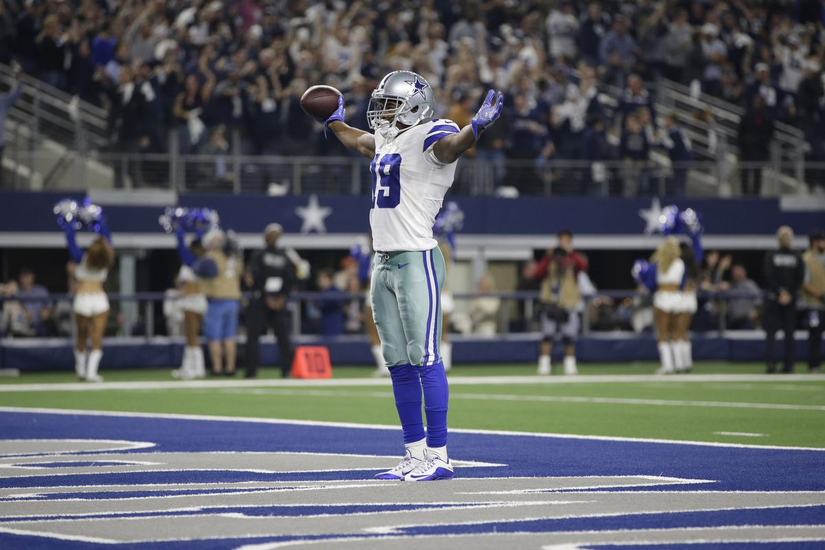 Amari Cooper Joins Dak Prescott Ezekiel Elliott In Espn S Positional Top 10 Rankings Blogging The Boys