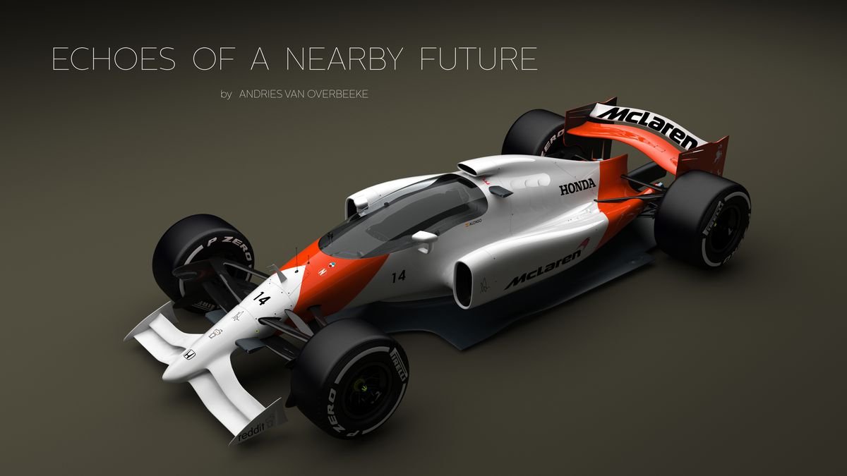 This Crazy F1 Concept Car Could Save Open Wheel Racing