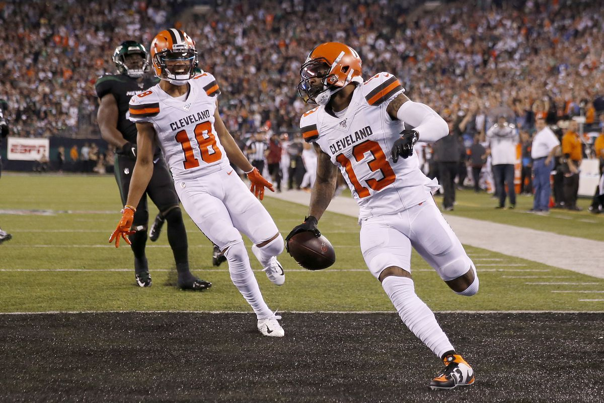 Browns Vs Jets Final Score Myles Garrett Odell Beckham