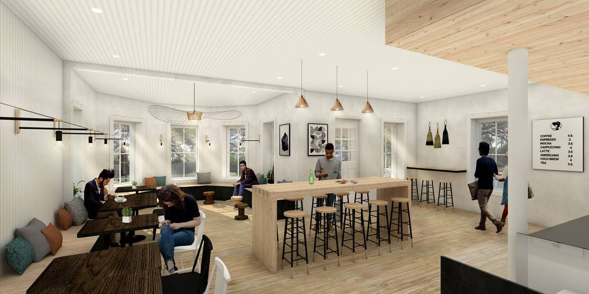 Rendering of Stone House Coffee