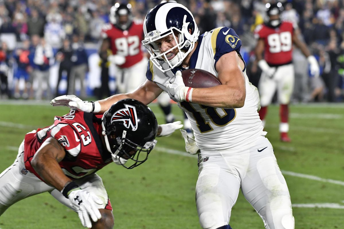 Rams Falcons Rookies Solid In Playoff Debut Turf Show Times