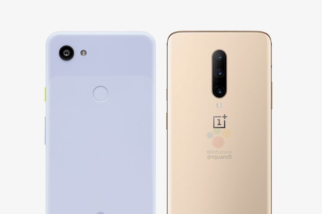 Google Pixel 3A (left) | OnePlus 7 Pro (right)