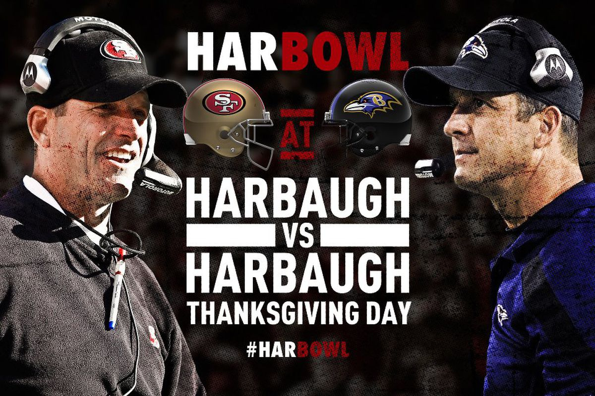 """HarBowl wallpaper courtesy of the <a href=""""https://www.facebook.com/SANFRANCISCO49ERS"""" target=""""new"""">49ers Facebook Page</a>."""