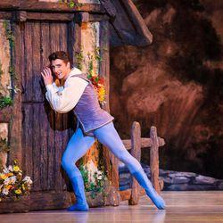 "Ballet West's principal dancer Christopher Ruud in ""Giselle."""