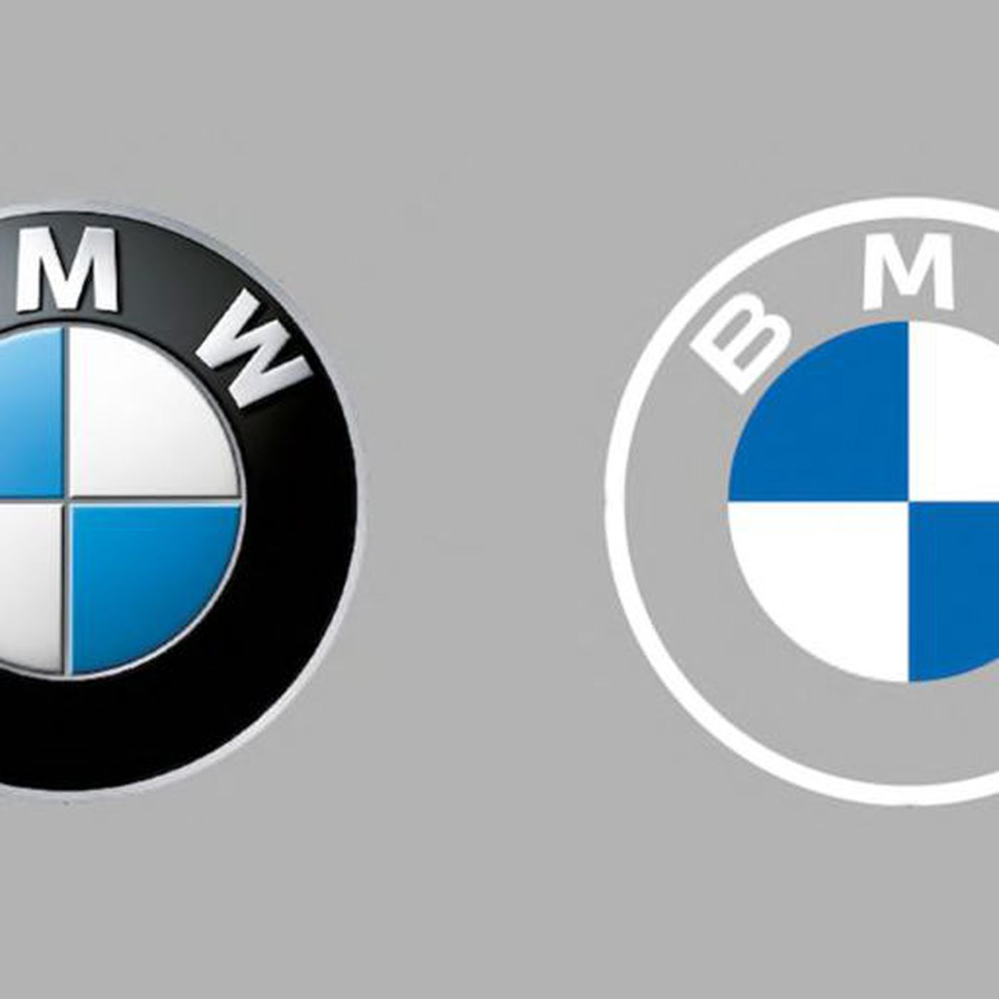 Bmw S New Flat Logo Is Everything That S Wrong With Modern Logo Design The Verge