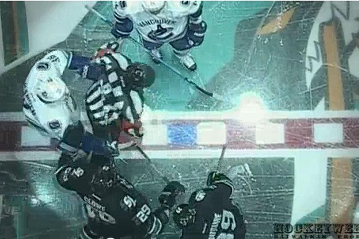 """""""Get the f*** out of my way, ref. I wanna punch Clowe's teeth out!"""""""