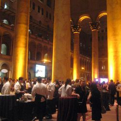 Taste of the Nation was held in the beautiful National Building Museum.