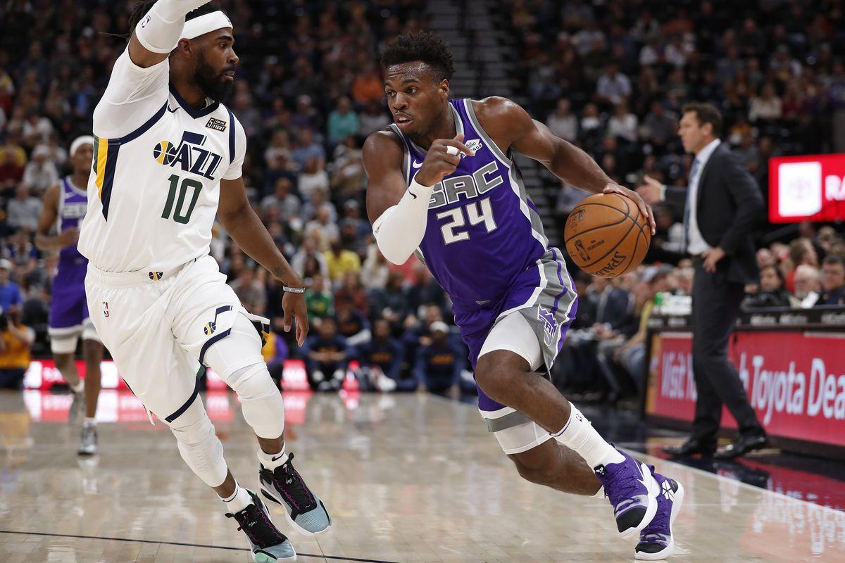 NBA: Preseason-Sacramento Kings at Utah Jazz