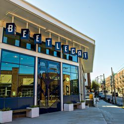 BeetleCat is located at the corner of North Highland Avenue and Elizabeth Street in Inman Park.