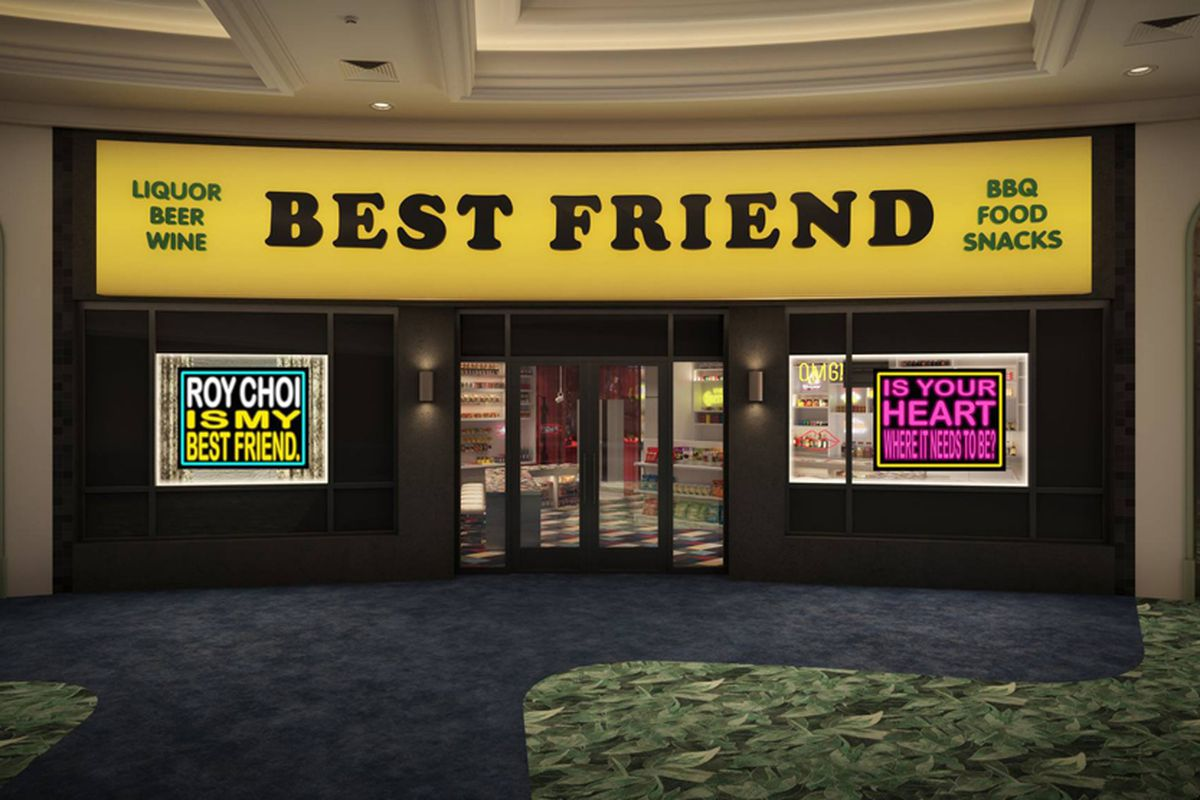 Roy Choi Best Friend opening date Las Vegas restaurant
