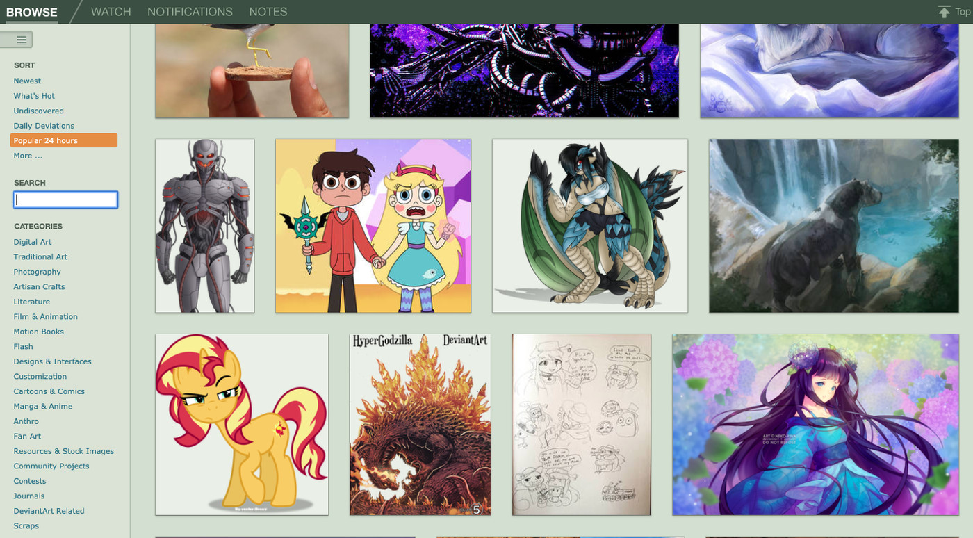 Deviantart Is Growing Up With Its Biggest Redesign Ever