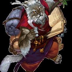 A catfolk from Legacy of Dragonholt.