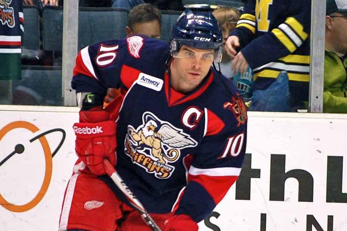 Griffins Captain Jeff Hoggan