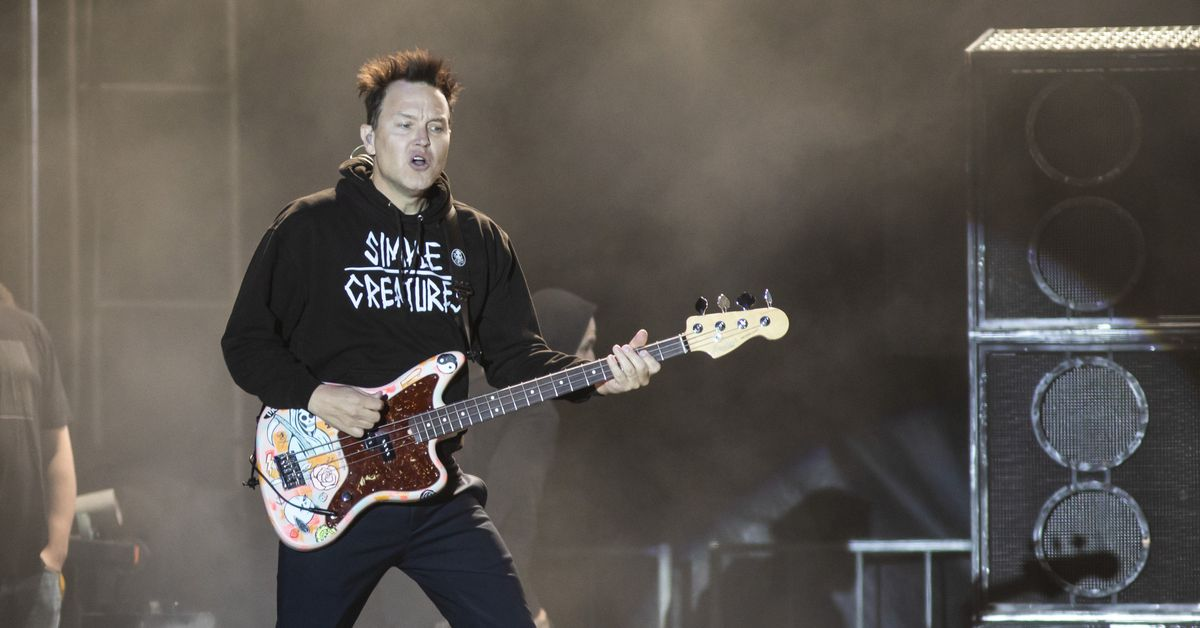 Mark Hoppus of Blink-182 undergoing chemotherapy for cancer: 'It sucks and I'm scared'