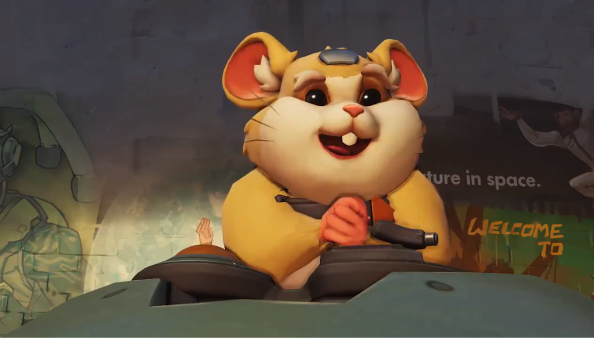 Overwatch - Hammond holding his hands