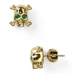 """<a href=""""http://www1.bloomingdales.com/catalog/product/index.ognc?ID=549191&PseudoCat=se-xx-xx-xx.esn_results"""" rel=""""nofollow"""">Juicy Couture Skull Stud Earrings</a>: $48"""