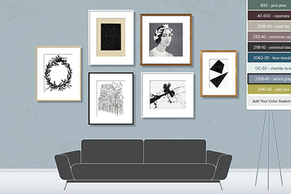Plan A Gallery Wall With This New App This Old House