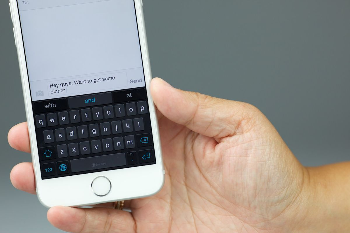 New Keyboards Bring Faster, Easier Typing to the iPhone 6 - Vox