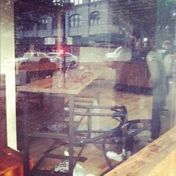 """A picture of the damage inside Governor from <a href=""""http://instagram.com/p/RaGfwsydkc/"""">Instagram/ClaireMazur</a>."""