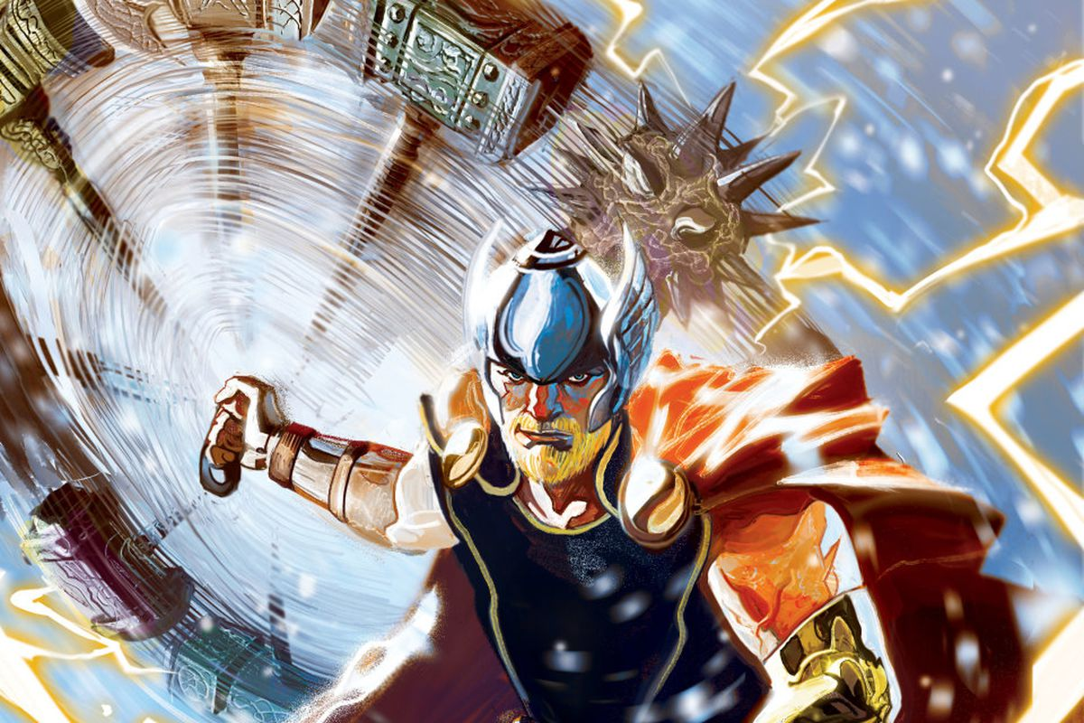 The Odinson Headlines Marvel's 'Fresh Start' in Thor #1