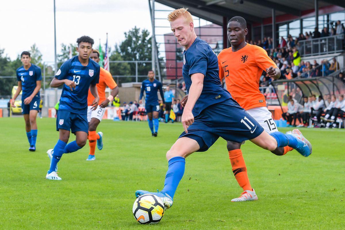 """International Friendly""""The Netherlands U18 v United States of America U18"""""""