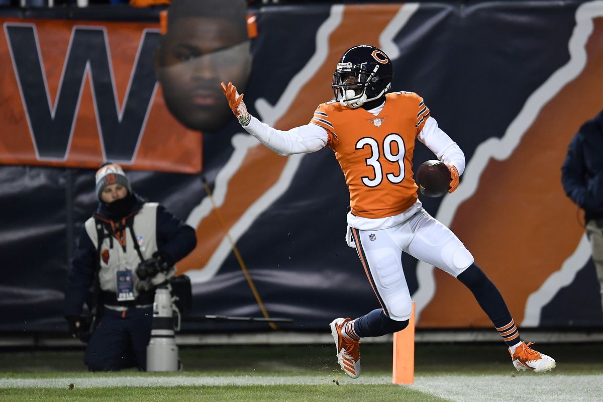 Bears safety Eddie Jackson wants the ball thrown his way.