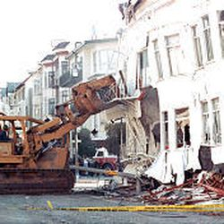 A 6.9 quake caused extensive damage in San Francisco in 1989.