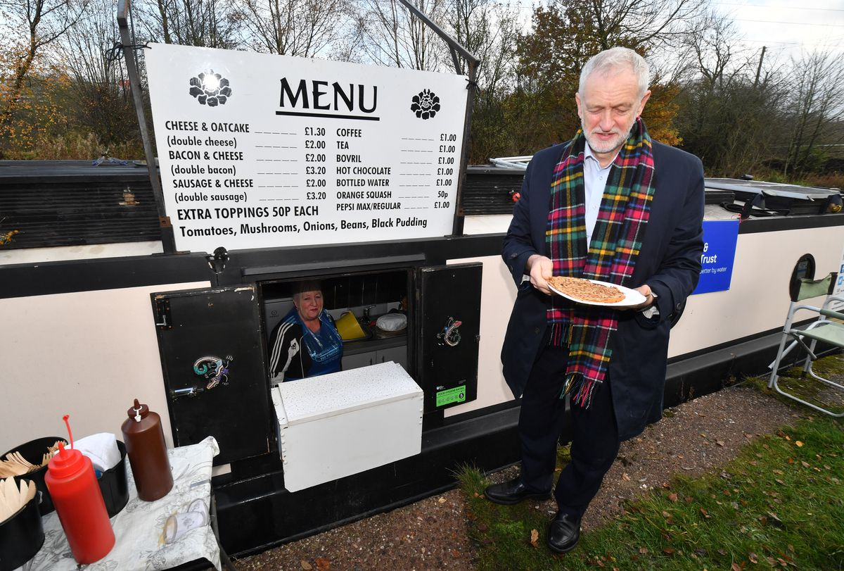 Jeremy Corbyn Campaigns For Labour In Stoke