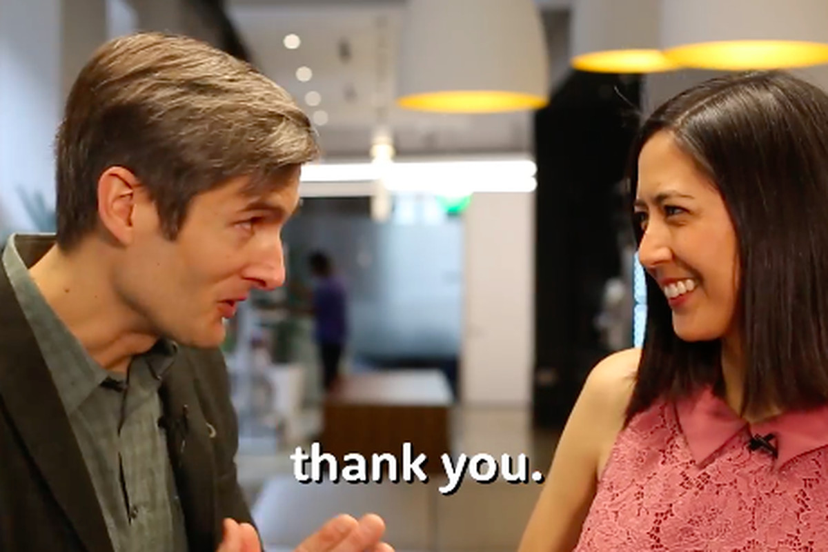 DonorsChoose founder Charles Best thanked Ripple's Monica Long in a video announcing the cryptocurrency company's donation.