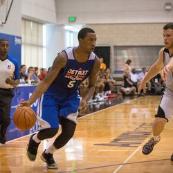 KCP handles the ball on offense