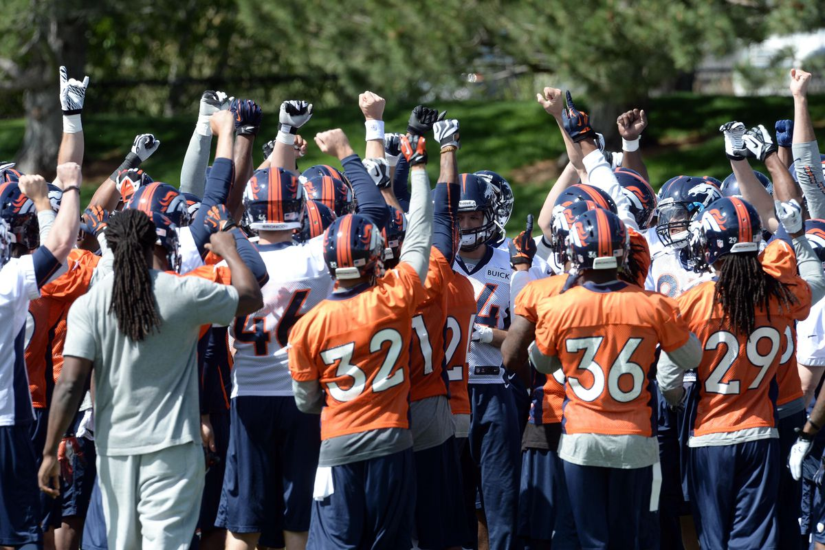 Broncos depth chart updated after the 2014 draft mile high report