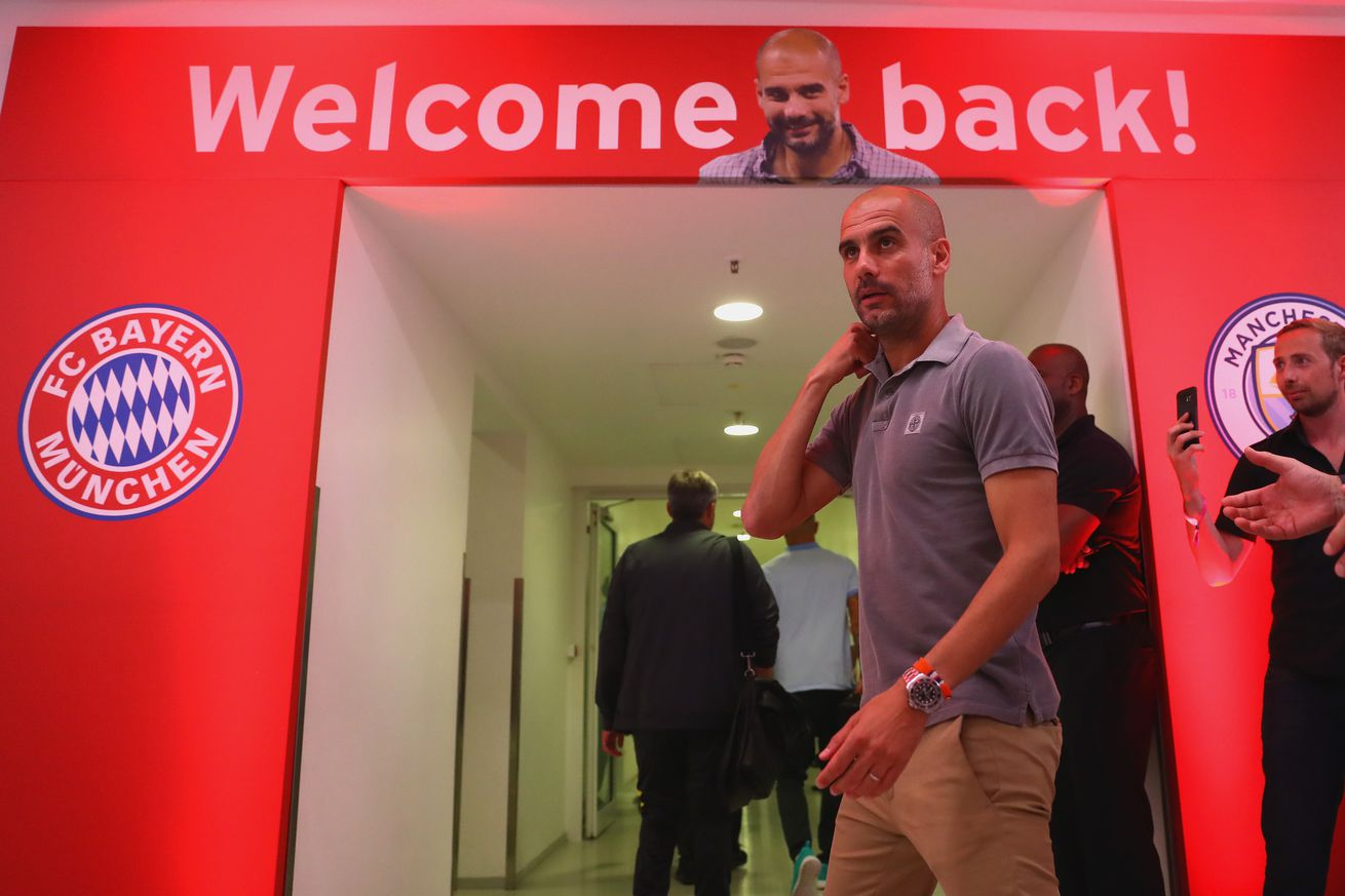 Could Pep Guardiola possibly return to Bayern Munich""