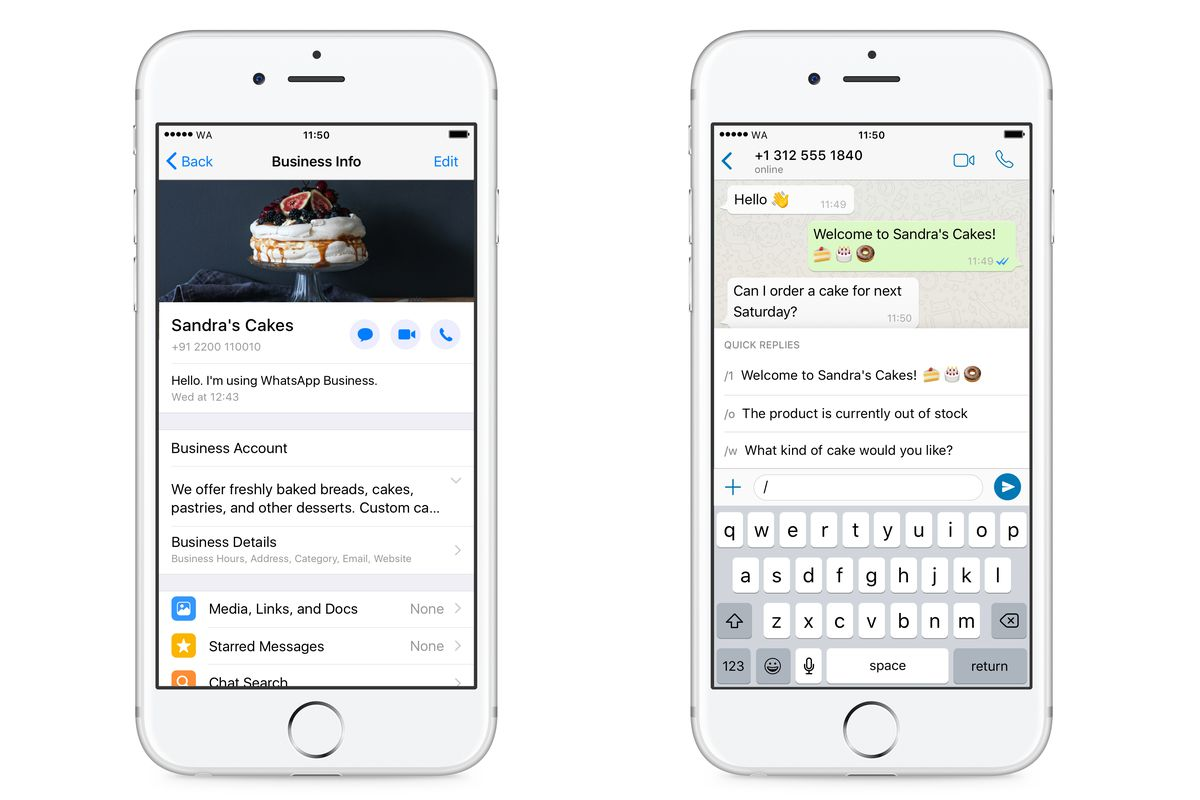 Whatsapp Business App For Ios Begins Worldwide Rollout The Verge