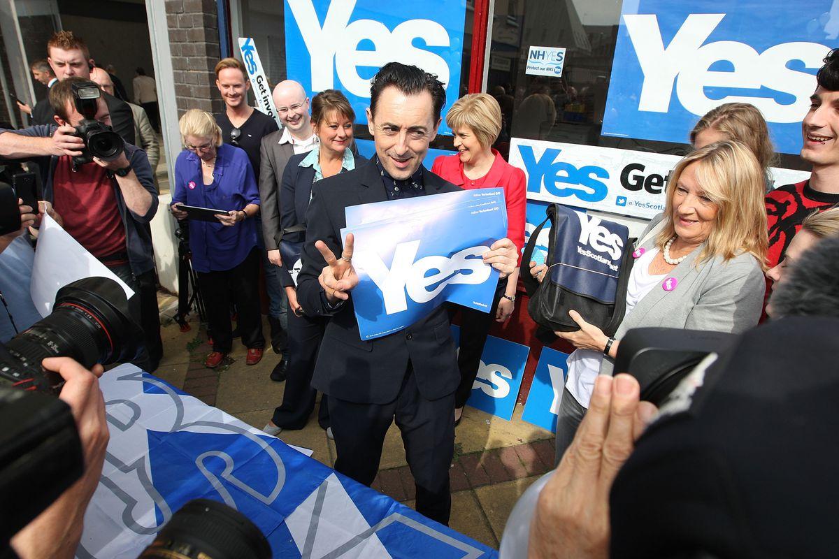Alan Cumming Yes Campaign