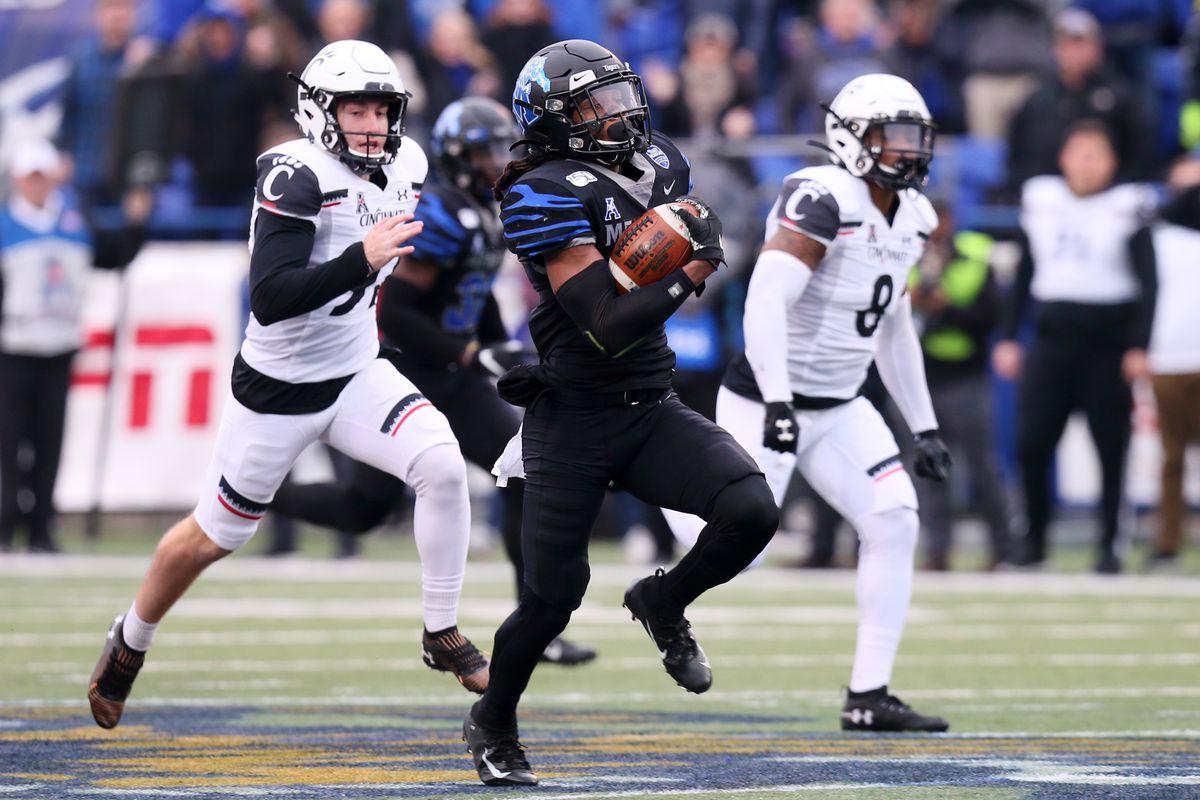 NCAA Football: Cincinnati at Memphis