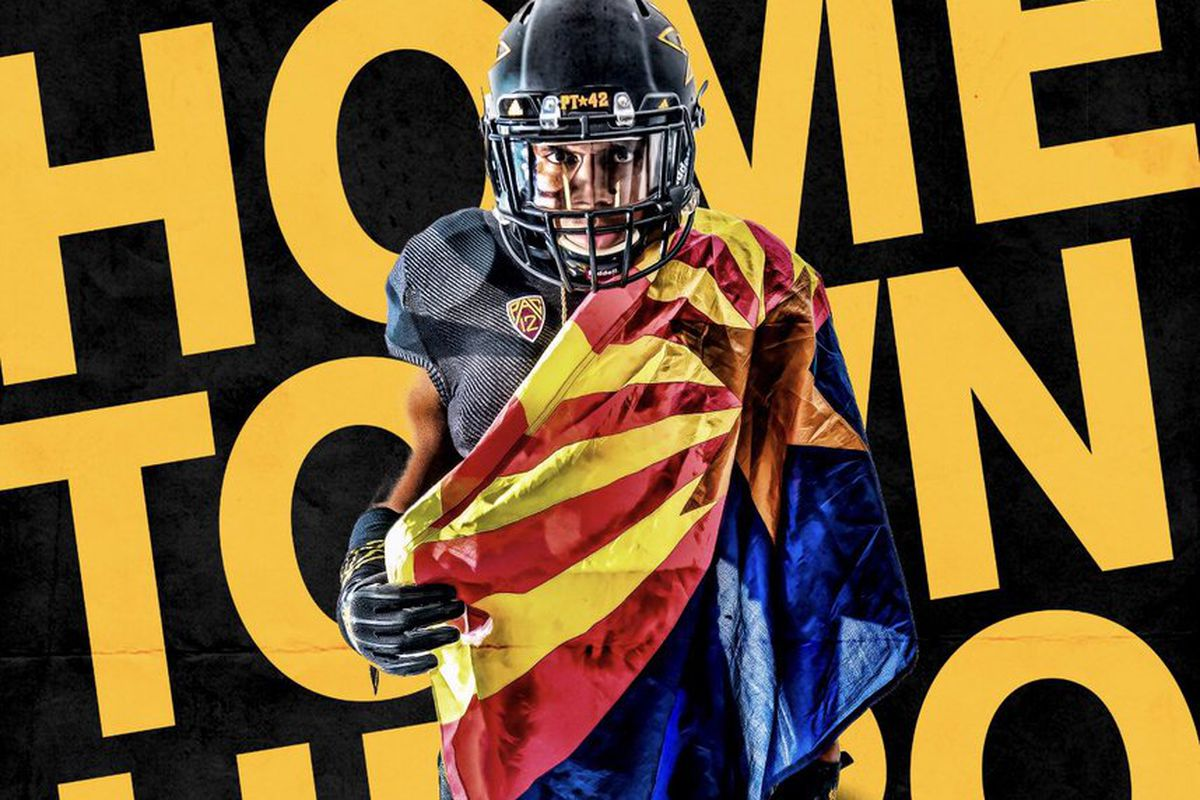 ASU Football: Local product elects to stay home with Sun Devils