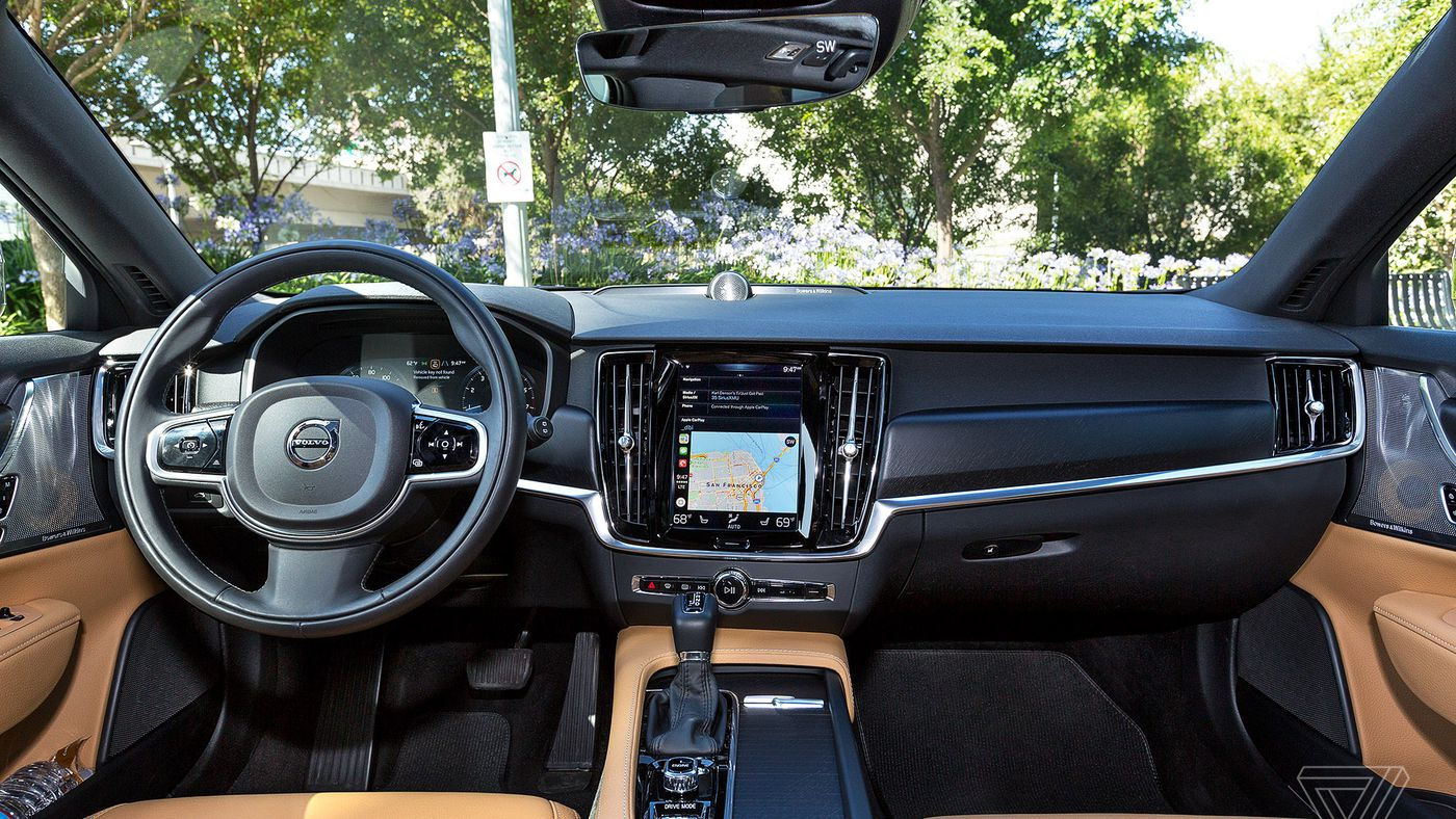 Screendrive Volvo S Take On The Touchscreen Actually Makes Sense